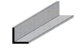 Profilo alluminio angol. 10 x 10