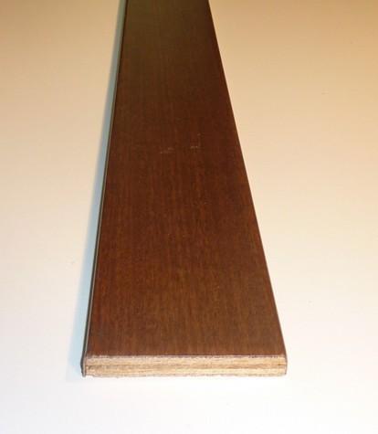 Coprifilo Tanganica verniciato 70 x 10 x 2250 mm.