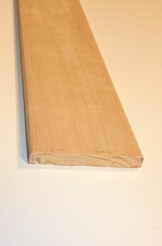 Coprifilo Tanganica grezzo 70 x 10 x 2250 mm.