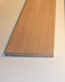 Coprifilo Tanganica grezzo 80 x 10 x 2250 mm.