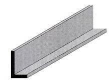 """Profilo alluminio """"L"""" 15 x10"""