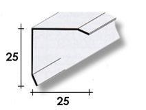PARASPIGOLO ACCIAIO INOX 2.5 x 2.5 x 270 cm.