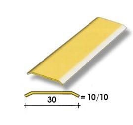 Coprisoglia ottone adesivo da  3 cm.