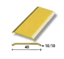 Coprisoglia ottone adesivo da  4 cm.
