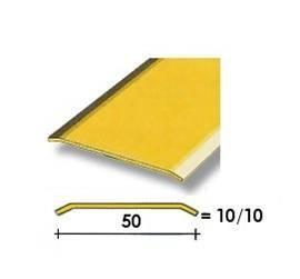 Coprisoglia ottone adesivo da  5 cm.