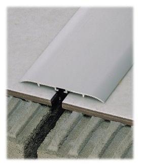 Coprisoglia alluminio anodizzato da  4 cm.