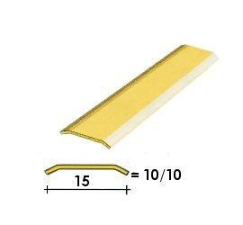 Coprisoglia ottone adesivo da  1.5 cm.