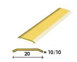 Coprisoglia ottone adesivo da  2 cm.