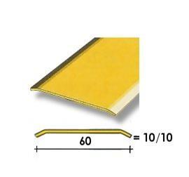 Coprisoglia ottone adesivo da  6 cm.