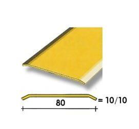Coprisoglia ottone adesivo da  8 cm.
