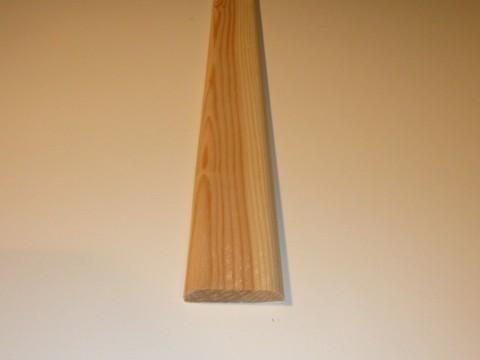 Asta Pino grezzo da 40 mm. x 2700 mm.
