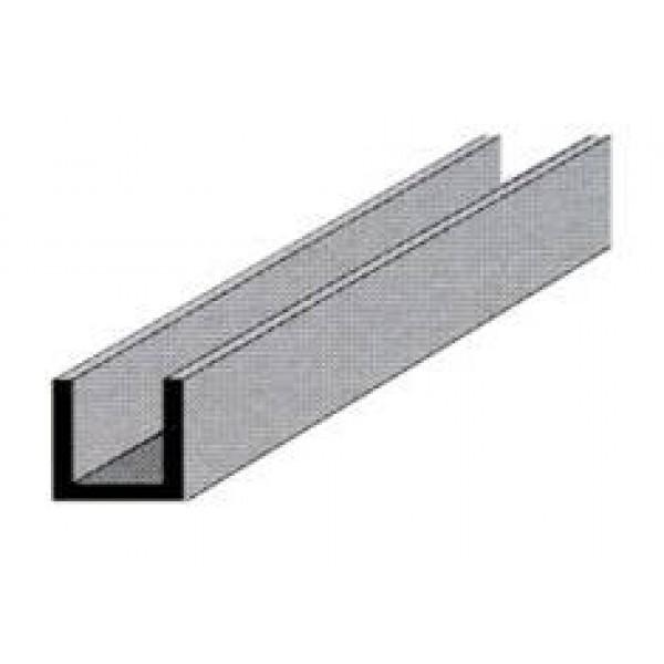 Profilo alluminio anodizzato canalina